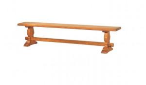 Banco de madera maciza, fabricado en roble frances de primera calidad