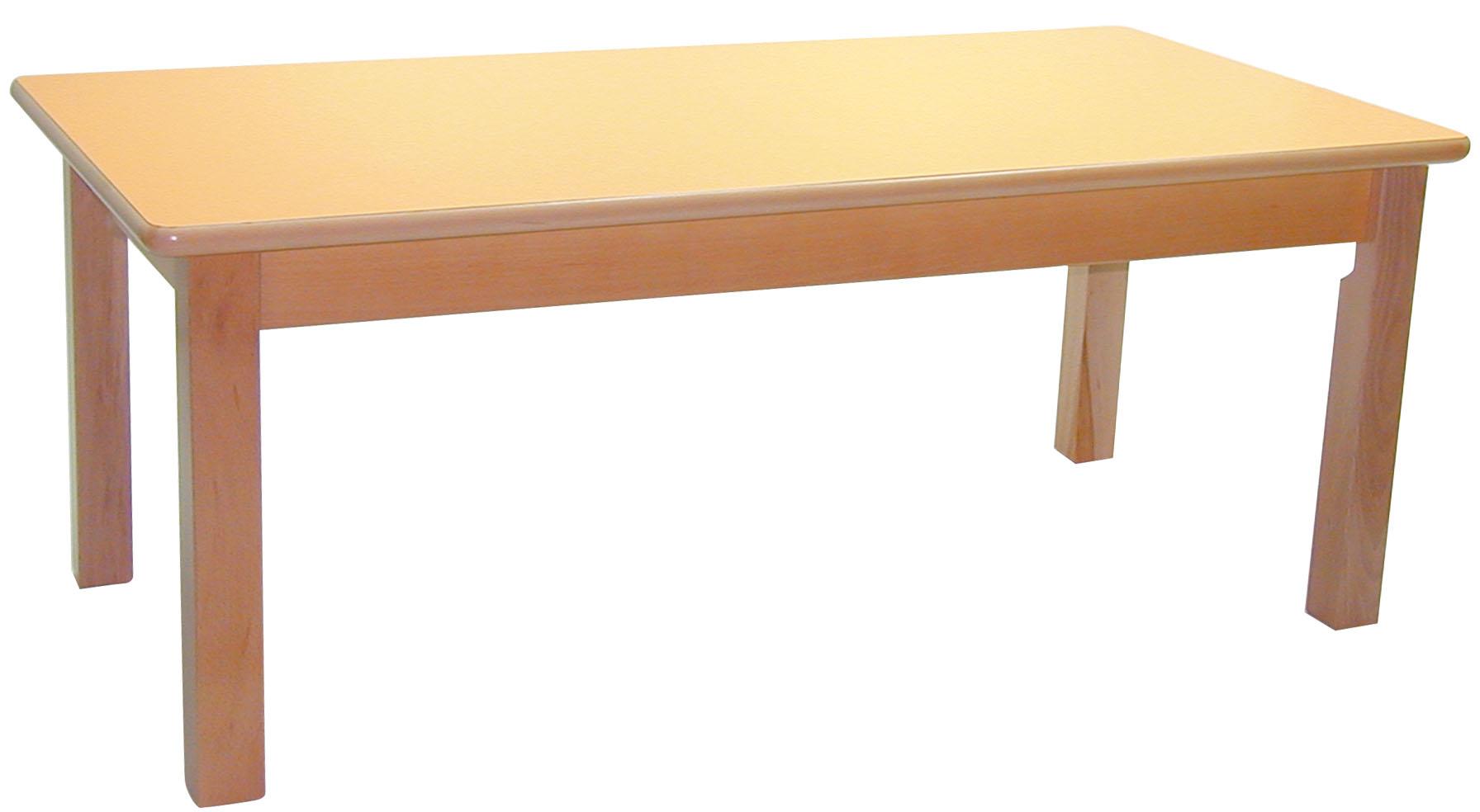 mesa infantil de madera de haya mod max