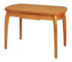 Mesa de COCINA Semiovalada de madera