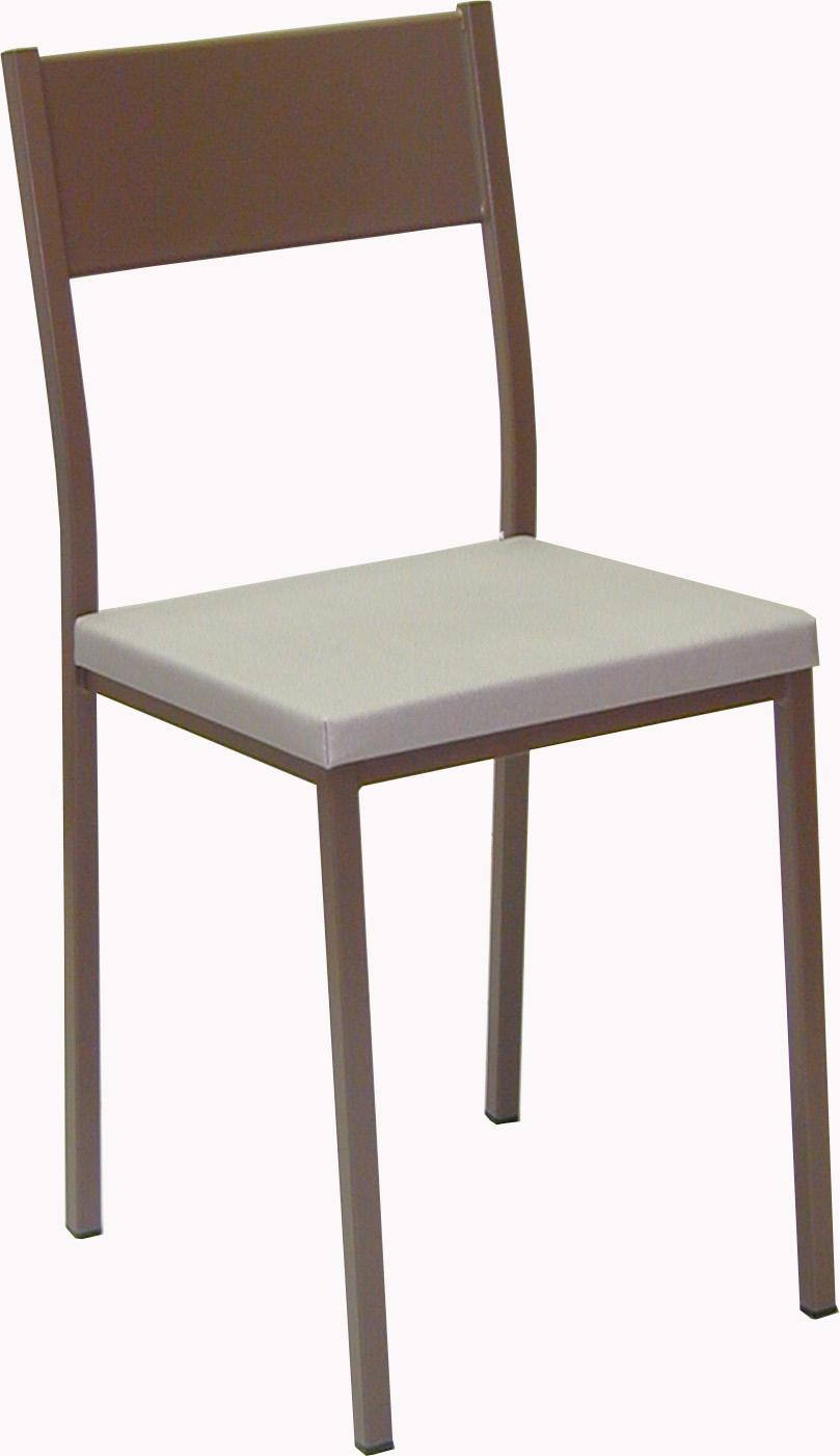 silla-cocina-metalica-moka-aruba - 4 Patas