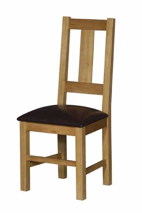 Silla de madera maciza en roble franc s tapizada 4 patas for Sillas de madera clasicas tapizadas
