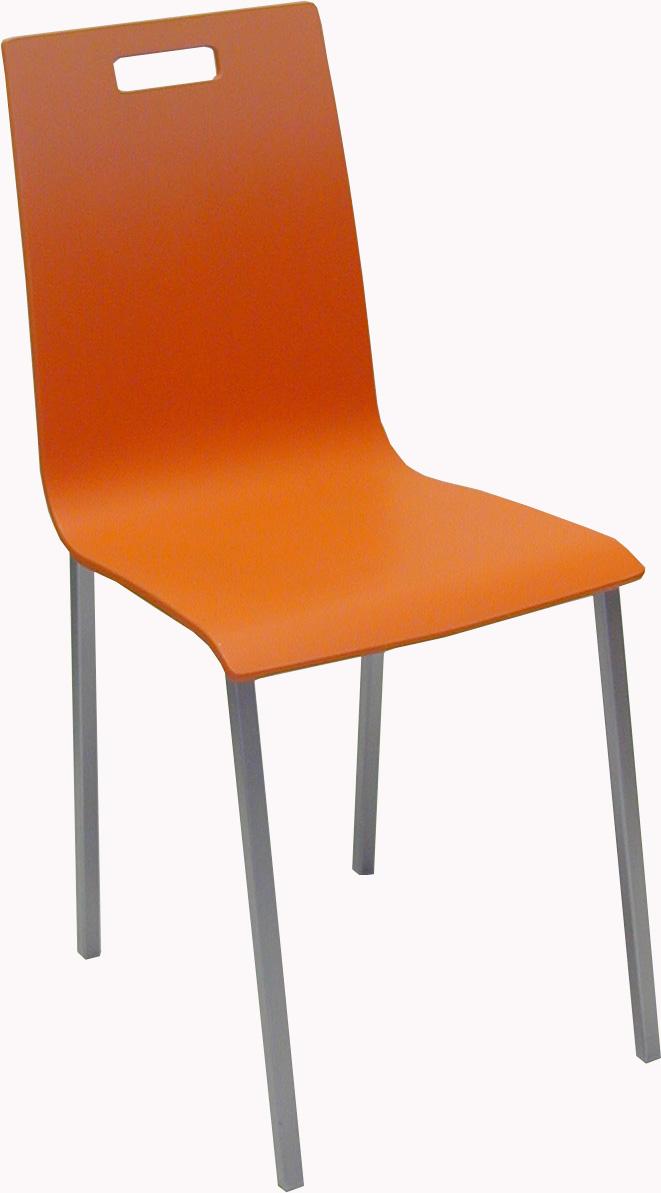 silla de cocina metálica