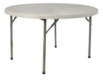 Mesa plegable polietileno redonda 180 beethoven - Mesa infantil plegable ...
