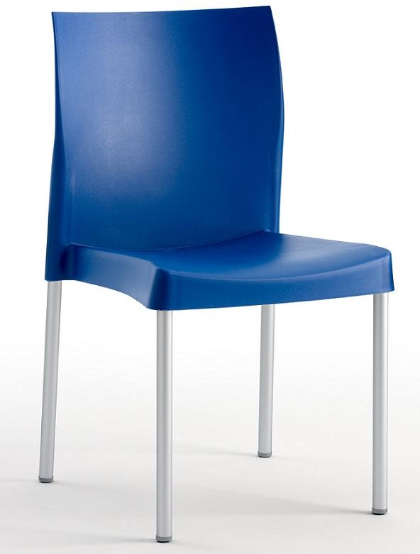 Silla apilable para hosteler a - Patas de aluminio para muebles ...