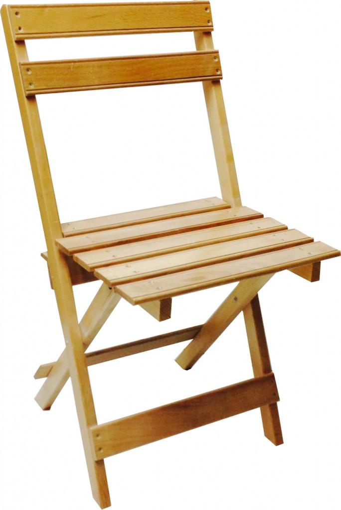 Silla plegable de madera de haya maciza for Sillas plegables comedor