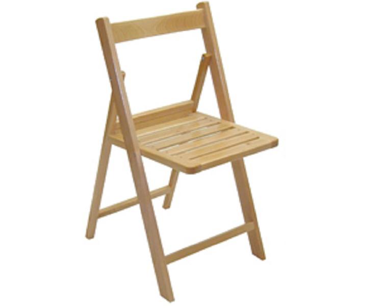 Silla plegable madera haya copia 9 4 patas for Muebles acedo almendralejo