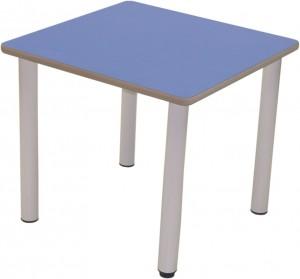 Mesa infantil diseñada y fabricado especialmente para su utilización en guarderías y escuelas infantiles.