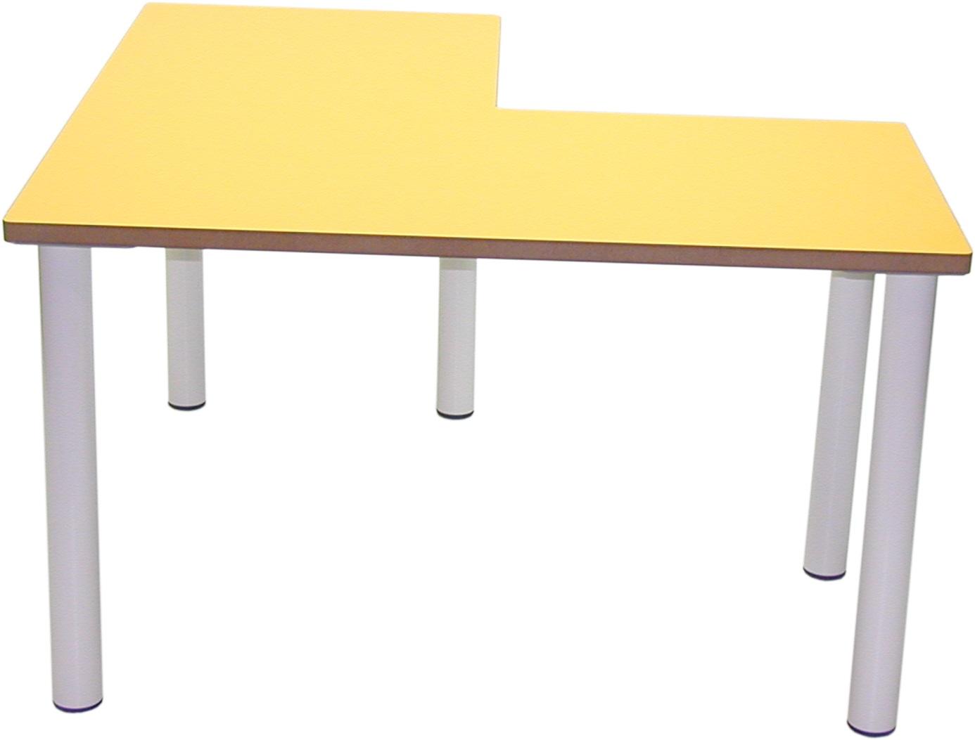 Patas Metalicas Para Muebles : Mesa infantil en l para guarderías y escuelas infantiles chupi