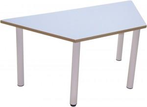 Mesa infantil trapezoidal Chupi-TR 120×60 para guarderías y escuelas infantiles
