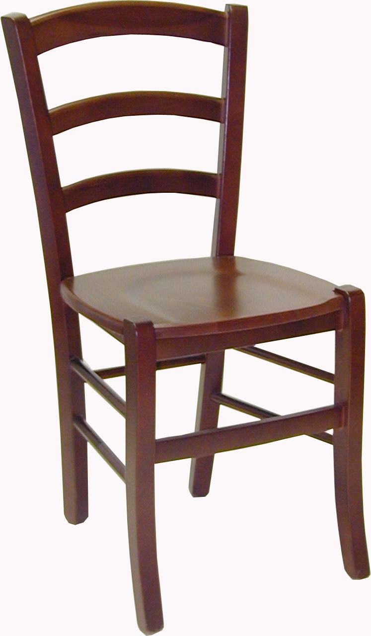 Silla madera de haya 4 patas for Sillas de madera para salon