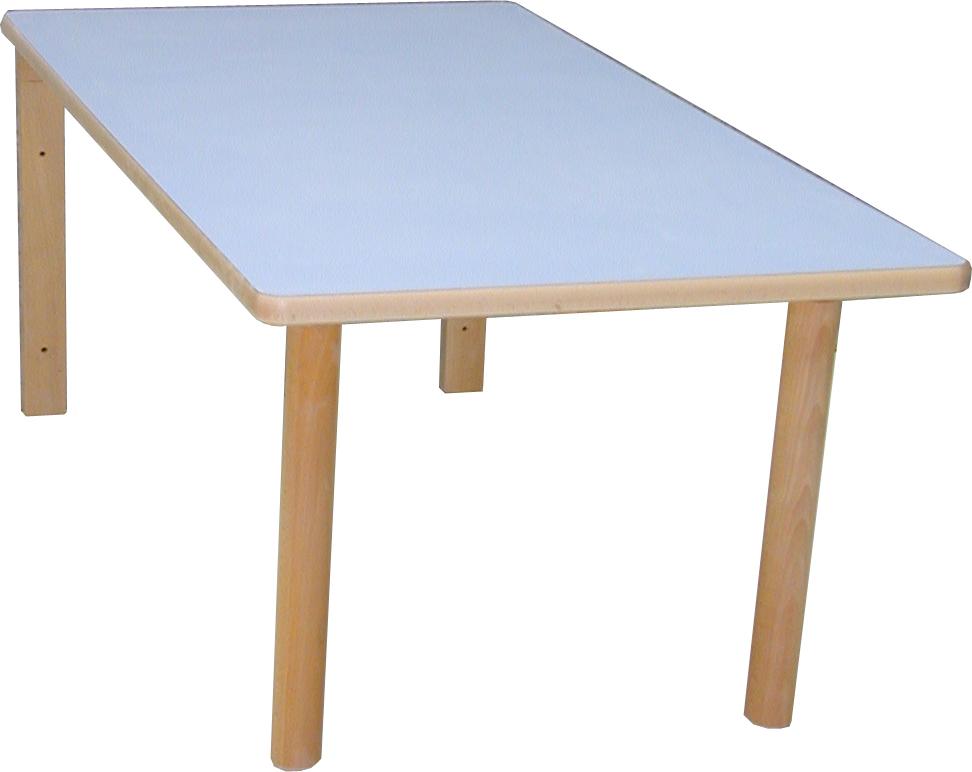 Mesa infantil abatible 120 x 60 4 patas for Patas de mesa plegables
