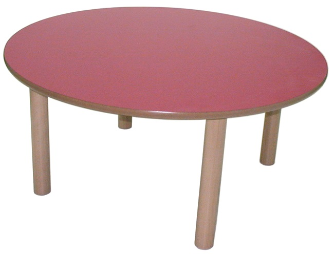 Mesa redonda guay mobiliario infantil escolar colegios - Mesa infantil madera ...
