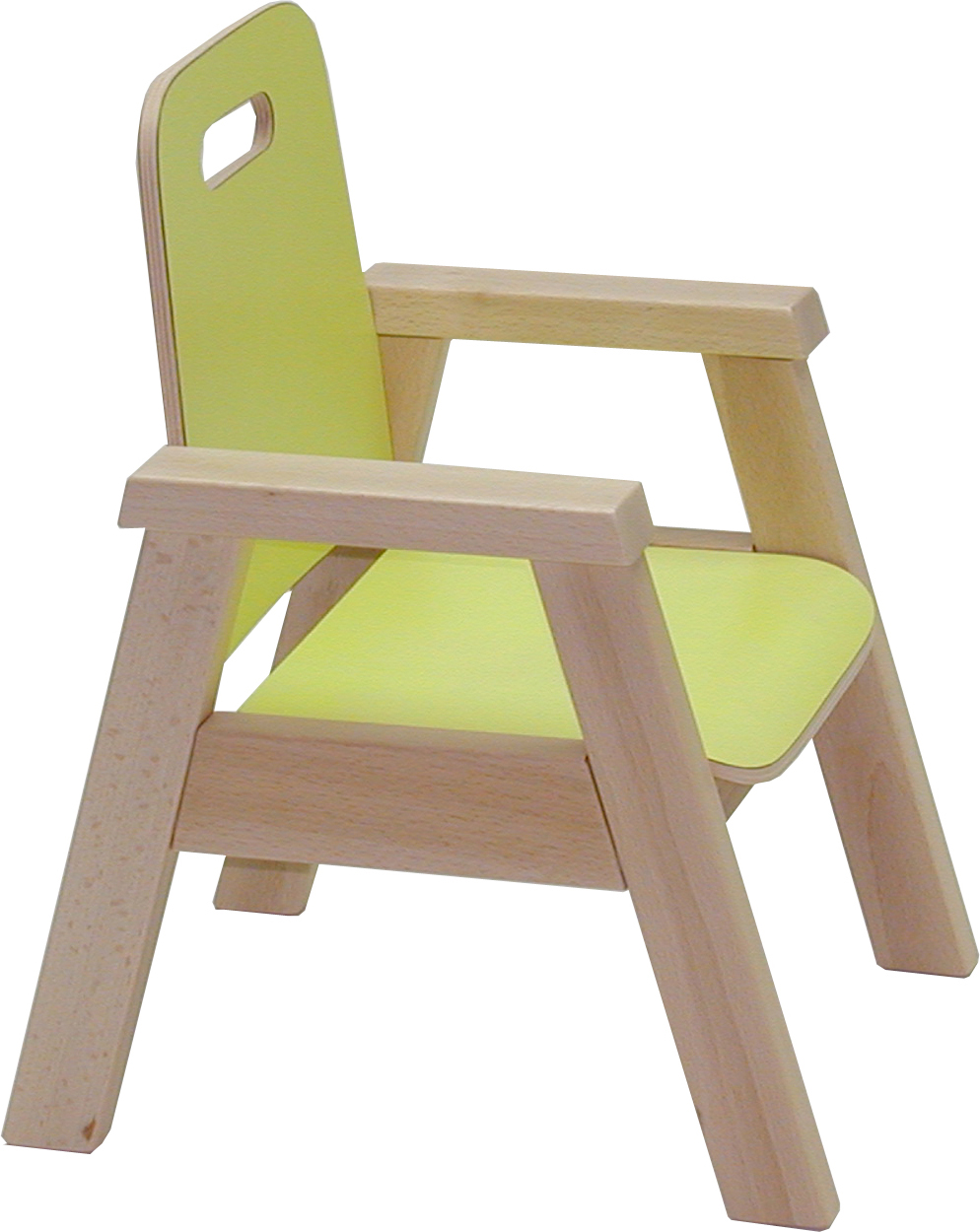 Trona infantil chiqui 4 patas - Silla infantil madera ...