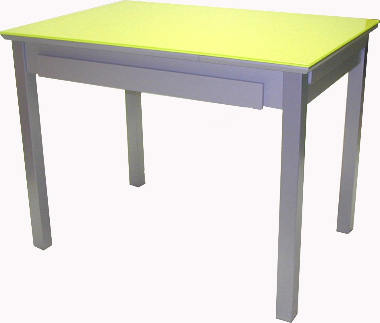 Mesa cocina extensible metalica cristal ane 4 patas - Mesa cocina extensible ...