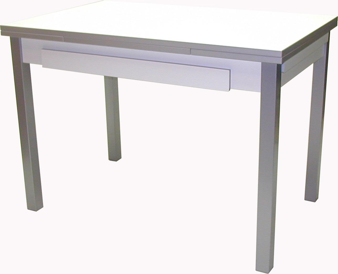 Mesa de cocina extensible madrid 4 patas for Mesas de cocina cuadradas