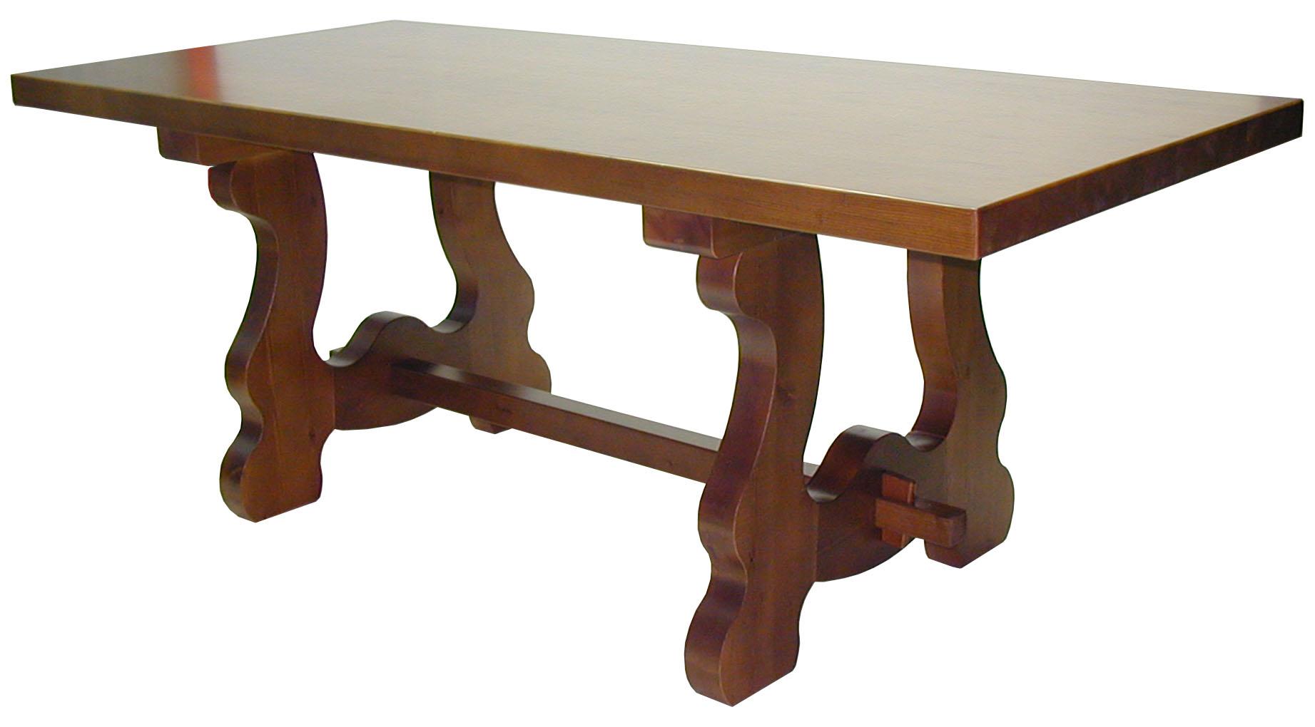 Mesa de madera de pino 4 patas - Tableros de madera maciza para mesas ...