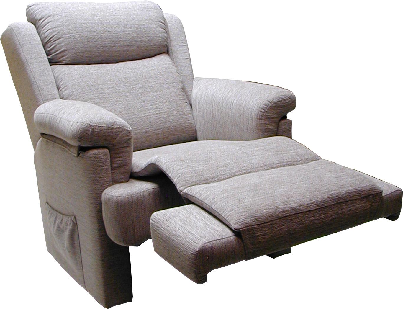 Butaca relax tapizada for Muebles acedo almendralejo