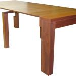 mesa-consola-chapeada-extensible-salon-lacada-guias-telescopicas-práctica-